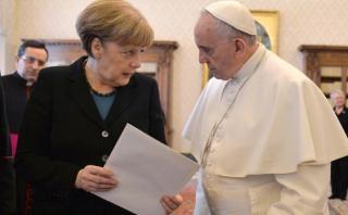 La frase del Papa sobre Europa que provocó el enfado de Merkel