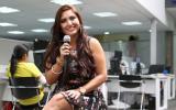 """Nicole Pillman en una sesión acústica desde """"El Comercio"""""""