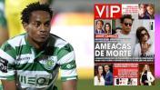 André Carrillo recibe amenazas de muerte por ir al Benfica