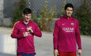 Lionel Messi no entrenó hoy y mañana será operado