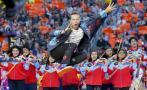 Super Bowl: una sinfónica tocó por primera vez en el intermedio