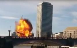Explosión en película de Jackie Chan desató pánico en Londres
