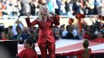 Lady Gaga interpretó el himno de EE.UU. en Super Bowl [VIDEO] - Noticias de cam newton