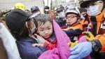 Terremoto en Taiwán: La implacable búsqueda bajo los escombros - Noticias de mujeres trabajadoras