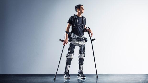 El exoesqueleto Phoenix pesa 12 kilos y que es capaz de adaptarse a cada persona. (Foto: SuitX)