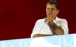 Alan García informó que no participará en todos los debates