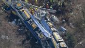 Tragedia en Alemania: Mueren 9 personas en choque de trenes