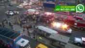 La Victoria: un muerto y 16 heridos deja choque de 'Chosicano'