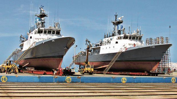 Nuevas patrulleras de la Marina navegarán desde marzo