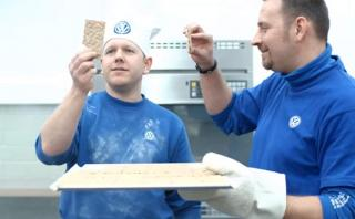 ¿Cómo hacer galletas con un Polo WRC? [VIDEO]