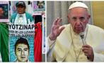 Francisco no se reunirá con padres de estudiantes desaparecidos