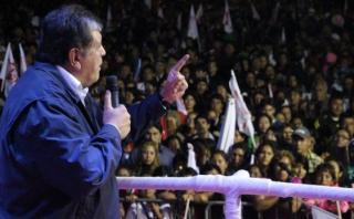 Alan García seguirá campaña en La Libertad con cinco mítines