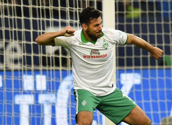 Con gol de Pizarro, Werder Bremen pasó a semis de Copa Alemana