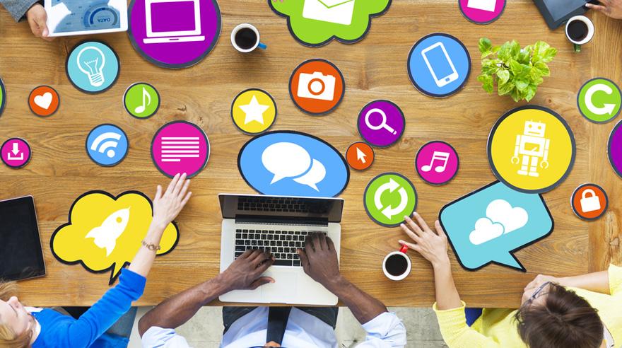 Las redes sociales son un canal fundamental de comunicación corporativa. (Foto: Difusión)