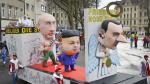 Alemanes celebran carnaval con burlas políticas - Noticias de