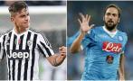 Juventus vs. Napoli: partidazo por liderato de la Serie A