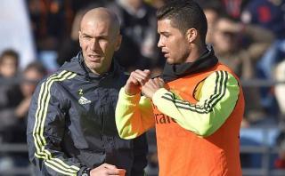"""Zinedine Zidane: """"¿Messi? Cristiano Ronaldo es el mejor"""""""