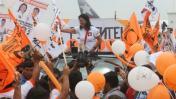 """Keiko Fujimori: """"Cualquier cosa puede pasar antes de elección"""""""