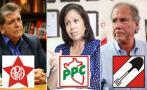 Elecciones: Partidos tradicionales sin fortuna en las encuestas