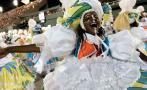 Mangueira, la escuela de samba campeona del Carnaval de Río