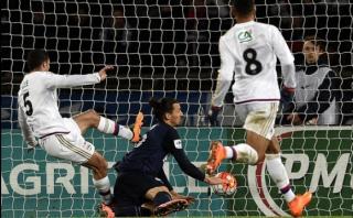 Con gol de pecho de Zlatan, el PSG avanzó en Copa de Francia
