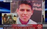 Piden no cesar búsqueda de joven ahogado en playa León Dormido