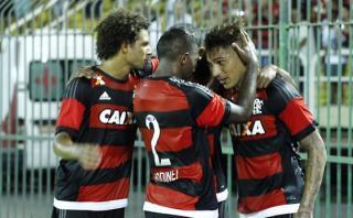 Con gol de Guerrero, Flamengo goleó 5-0 a Portuguesa [VIDEO]