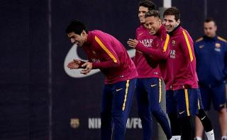 Messi volvió a entrenar con el Barcelona tras pruebas renales