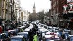 Protesta de taxis contra Uber paraliza Londres - Noticias de mark rowley