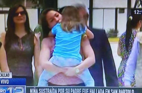 San Borja: niña secuestrada se reencontró con su madre