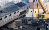 Al menos 70 heridos dejó un accidente de tren en Egipto