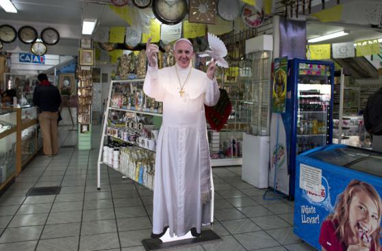 México en espera de la primera visita del papa Francisco