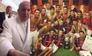 San Lorenzo goleó a Boca Juniors con esta bendición del Papa