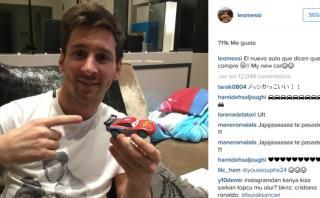 Lionel Messi se burló así de supuesta compra de un Ferrari