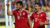 """Müller sobre Pizarro: """"Él es mitad Bremen, mitad Bayern Múnich"""""""