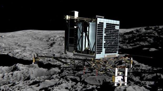 Científicos se despiden de Philae, el robot posado en un cometa