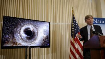 El histórico anuncio de la detección de ondas gravitacionales