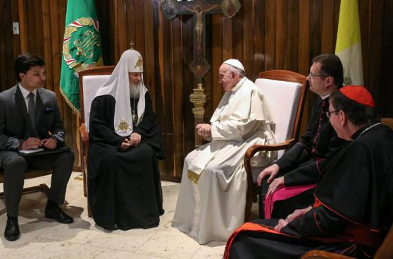 El Papa y Kirill: Las fotos del encuentro que esperó 1.000 años
