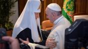 El histórico encuentro entre Francisco y el patriarca ruso