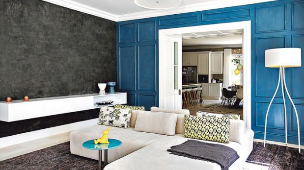 Azul el color del momento  Decoración  Casa y Más  El Comercio