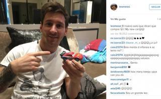 Messi desmintió haber comprado Ferrari de US$ 36 millones