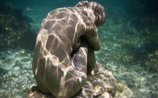 Mira las increíbles esculturas submarinas del Museo Atlántico