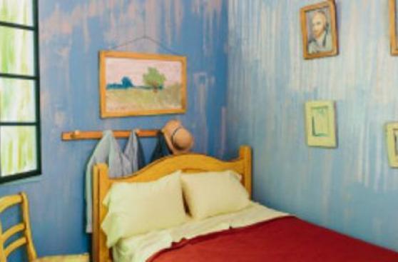 Cómo alojarse en la habitación de Van Gogh por US$10 la noche