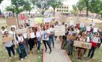 Colectivo feminista marchó para exigir renuncia de alcalde