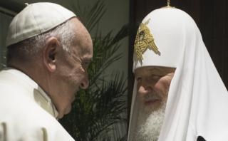 """Kirill alabó el """"debate"""" que sostuvo con Francisco en Cuba"""