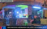 Policía detenido por asesinato de un hombre en puesto de comida