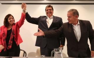 En el Partido Aprista creen que Alan García está segundo