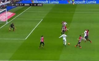 Pasaron 2 minutos de juego y Cristiano Ronaldo marcó un golazo