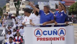 Gregorio Santos participó en debate presidencial desde prisión