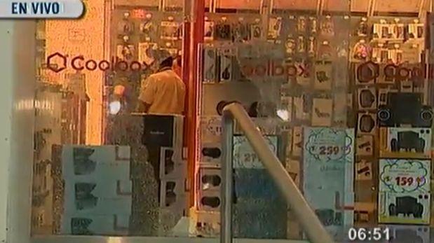 San Isidro: asaltan tienda Radioshack de Av. Salaverry